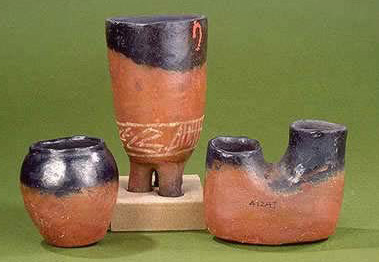 The Egyptian Museum Cairo Egypt  BlackTopped RedWare