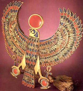 King Tut Falcon Pectoral