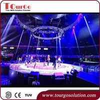 TourGo Indoor Pllar Truss Circle Lighting Truss - China ...