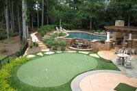 Tour Greens | Backyard Putting Green Cost