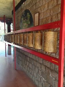prayer wheels, McCleod Ganj