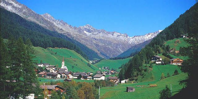 Ahrntal the pearl of Tyrol in the extreme north of Italy