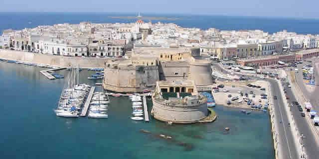 Salento the heel of Italy the beautiful area in Puglia