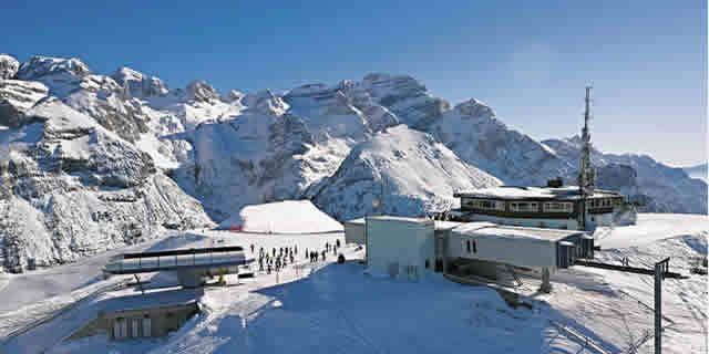 Pinzolo one of the best ski resorts in Italy