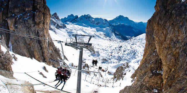 Cortina dAmpezzo the best ski resort in the Dolomites