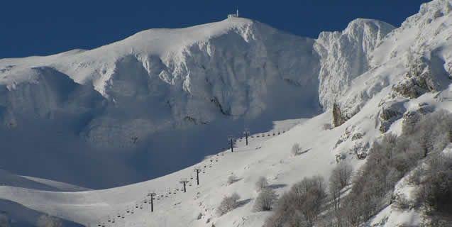 Ski Resort Campitello Matese in Molise South Italy