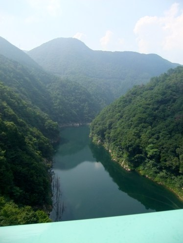 Near the Nukui dam