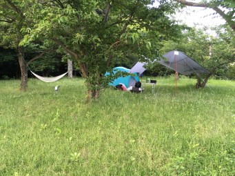 Camp set up
