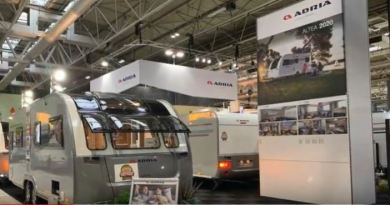 Take a look around the Adria stand and take a sneak peek of the NEW 2020 models