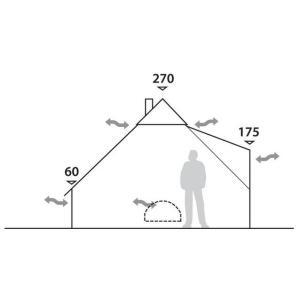Klondike 6 Person Tipi Tent