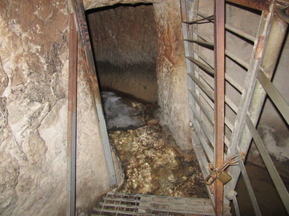 City of David - The beginning of Hezekiah's Tunnel