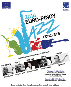Concert is FREE! BUT you must RSVP! Click the photo or copy this address to your browser for more details: https://www.facebook.com/europinoyjazzconcerts