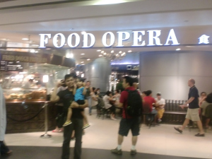 Who would have thought? It's their high-class food court! And was filled to the brim on a Saturday!