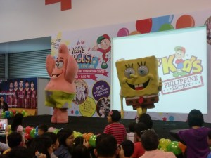 Spongebob and Patrick stepped on stage, and my daughter was so delighted. We missed Dora and Diego and Boots though, who appeared earlier in the day.