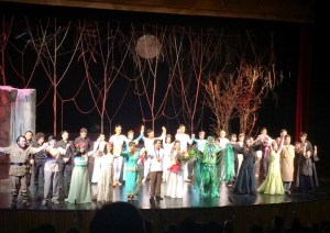 Second Night of Rusalka. Curtain Call.