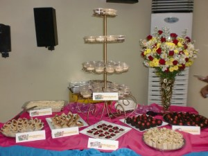 Such a great table set up, and all were yum!