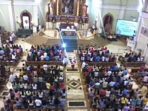 Last year's First Anticipated Simbang Gabi Mass, December 15, 2014.