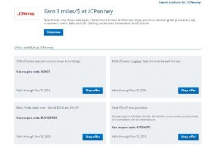 Discount codes on top of Airline Miles
