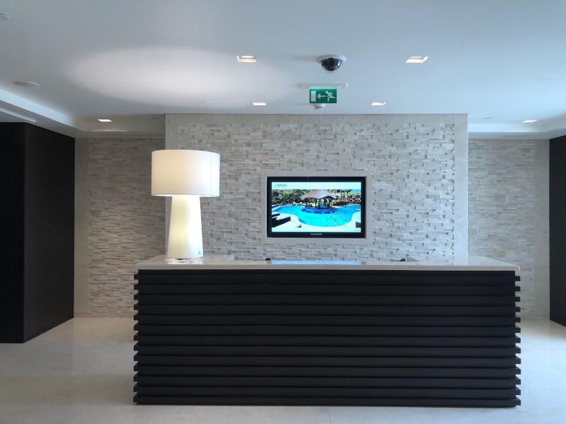 Floor Level Front Desk at The Le Meridien DXB Le Royal Club