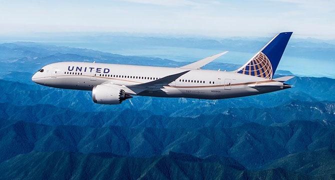 United Airlines 787 Dreamliner