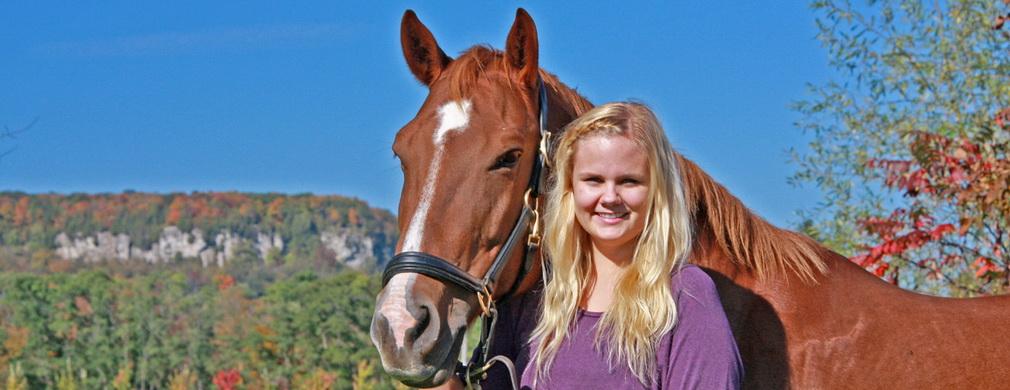 Cassi Candy on Escarpment - Linda Wiesner