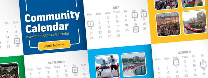 Burlington Event Calendar