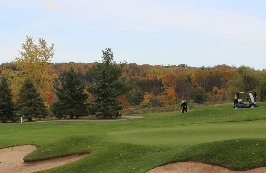 Fall Lowville Golf Course