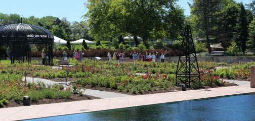Group tour at Hendrie Garden in Royal Botanical Gardens