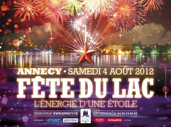 Fête du lac d'Annecy 2012 : Annecy, l'énergie d'une étoile