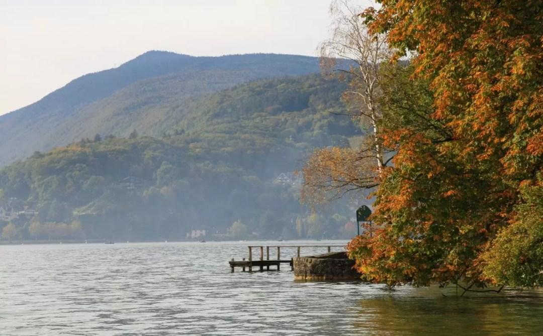 Balade en bord de lac