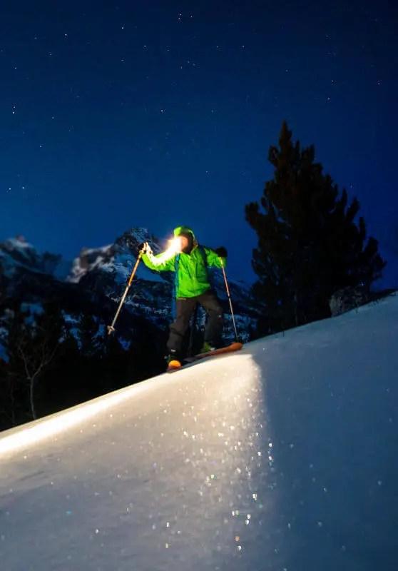 ski nocturne la clusaz aravis