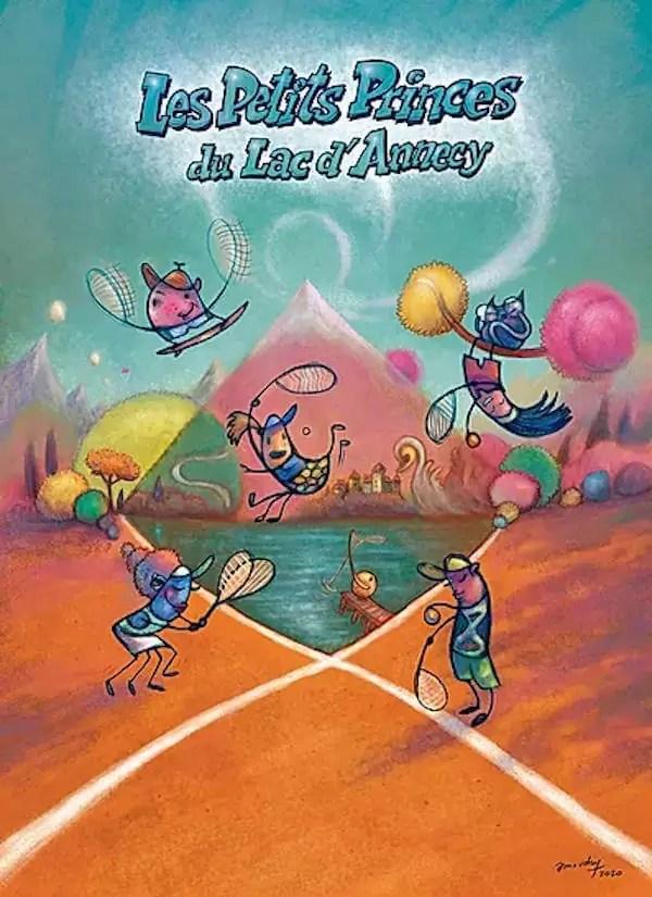 affiche du tournoi de tennis d'annecy
