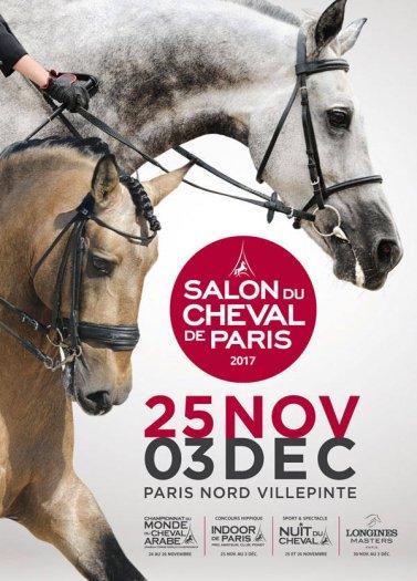 Le Salon du Cheval de Paris 2017  Villepinte comptition spectacle