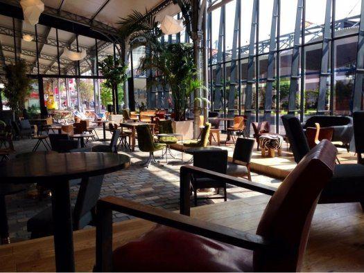 La Petite Halle restaurant privatisable  la Villette