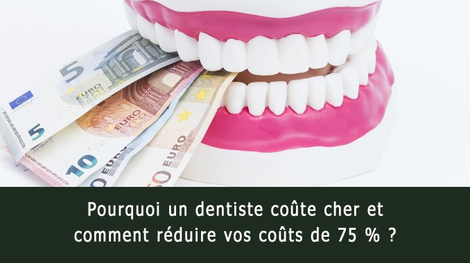 Pourquoi un dentiste coûte cher