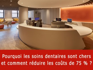 Soins dentaires chers