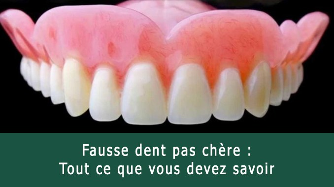 Fausse dent