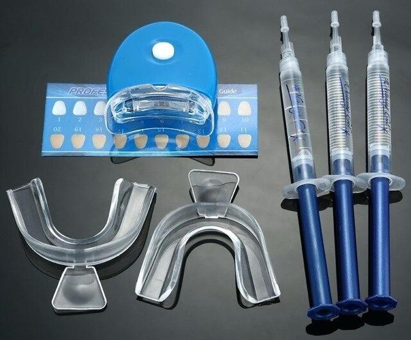 Gouttières de blanchiment dentaire en vente libre