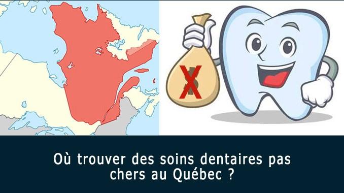 Soins dentaires pas chers au Québec
