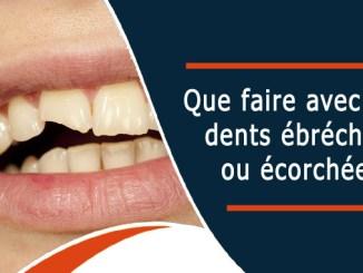 Dents ébréchées