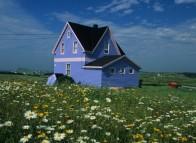 Maison typique des Îles de la Madeleine