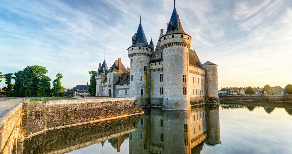 Sully Sur Loire S Fortified Castle Tourism Loiret France