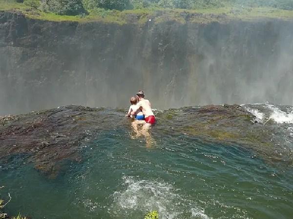 amazing pool victoria falls