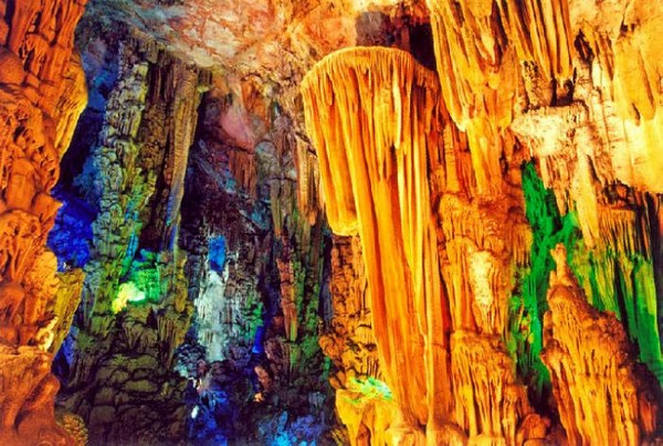 red flute cave china