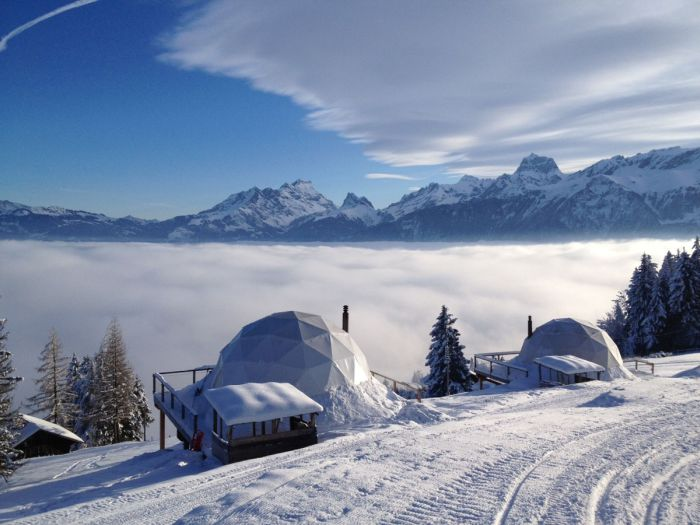 Whitepod-Hotel, Switzerland