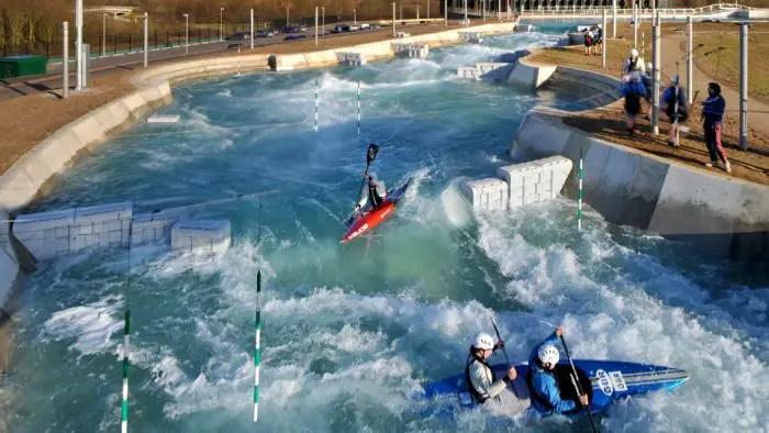 white water rafting, lee valley, London 2