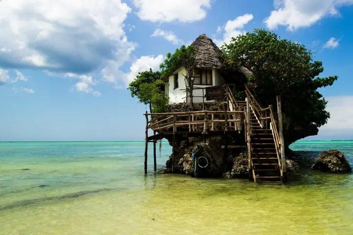 The Rock Restaurant, Zanzibar (1)
