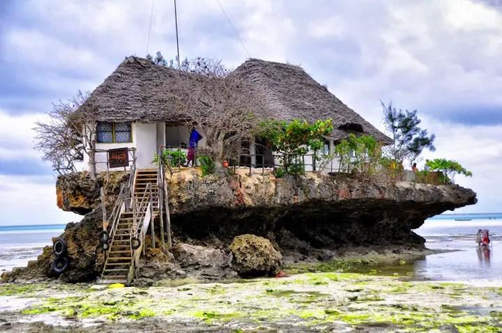 The Rock Restaurant, Zanzibar (2)