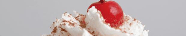 cherry on top of cream