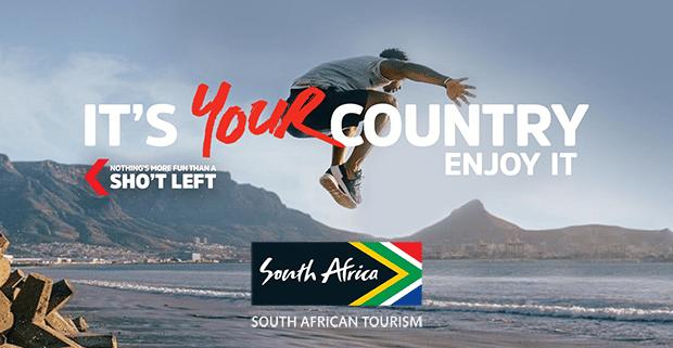South African Tourism Sho't Left Campaign